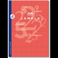 Libreta Grapada Lamela Tamaño A4 Cuadrovia 2.5mm 50 Hojas 06A4002