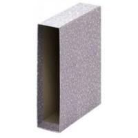 Caja archivador de palanca tamaño folio gris