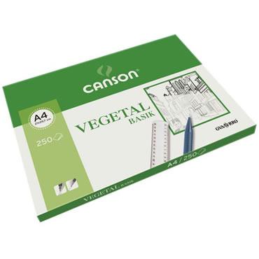 Papel Vegetal A4 95 grs  Unidad