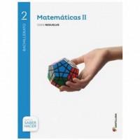 Matemáticas 2 Bachillerato serie Resuelve Santillana