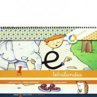 Cuaderno Letrilandia I pauta montessori