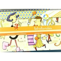 Cuaderno Letrilandia 3 pauta montessori
