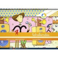 Cuaderno Letrilandia 4 Pauta Montessori