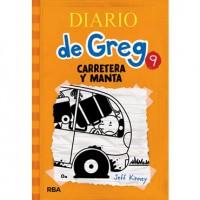 Diario de Greg 9 Carretera y manta