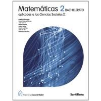 Matemáticas Aplicadas CCSS II Bachillerato Santillana