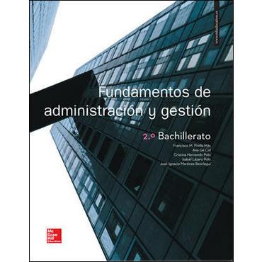 Fundamentos de administración y gestión 2 Bachillerato McGraw-Hill