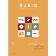 Cuaderno Matemáticas 1 Rubio Evolución
