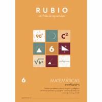 Cuaderno Matemáticas 6 Rubio Evolución