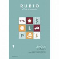 Cuaderno Lengua 1 Rubio Evolución