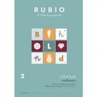 Cuaderno Lengua 2 Rubio Evolución