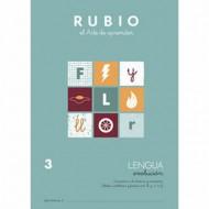 Cuaderno Lengua 3 Rubio Evolución