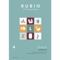 Cuaderno Lengua 4 Rubio Evolución