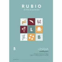 Cuaderno Lengua 5 Rubio Evolución