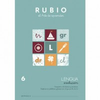 Cuaderno Lengua 6 Rubio Evolución