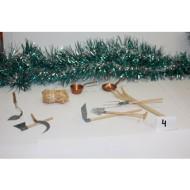 Conjunto de 9 utensilios para el Granero