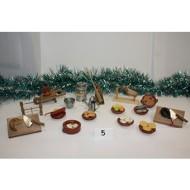 Conjunto de 17 piezas decoración Cocinas Portal Belen