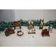Conjunto de 8 piezas decoración salón
