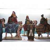 Reyes Magos y Pajes Reales 30 cm