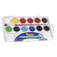 Acuarela jovi 12 colores estuche de plastico
