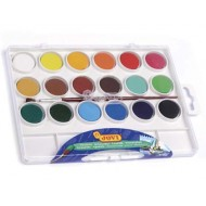 Acuarela jovi 18 colores estuche de plastico