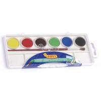 Acuarela jovi 6 colores estuche de plastico