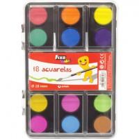 Acuarelas fixo kids 18 colores