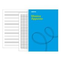 Cuaderno de Música Appunto 12 Additio Din- A4