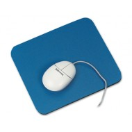 Alfombrilla para raton q-connect azul