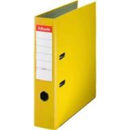 Archivador de palanca esselte forrado folio amarillo