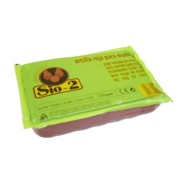 Arcilla sio-2 marron paquete de 1.5 kg