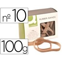 Bandas elasticas q-connect 100 gr 100x9 mm numero 10