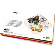 Bloc trabajos manuales liderpapel multiple premium 240x315mm 62 hojas colores surtidos