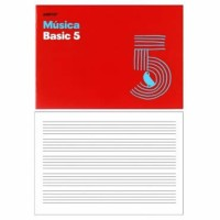 Cuaderno de Música Basic 5 Additio