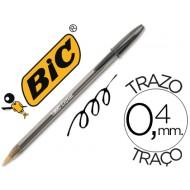 Boligrafo bic cristal negro -unidad