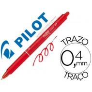 Boligrafo pilot frixion clicker borrable 0,7 mm color rojo