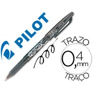 Boligrafo pilot frixion negro