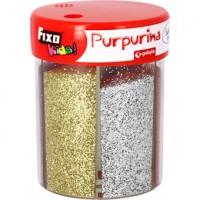 Purpurina Metal Bote 6 colores surtidos