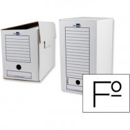 Caja de archivo definitivo liderpapel 367x251x200 mm.