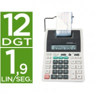 Calculadora citizen impresora pantalla papel cx-32 12 digitos con tecla de impuestos.