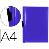 Carpeta beautone dossier pinza lateral 45322 polipropileno din a4 azul -60 hojas -pinza deslizante