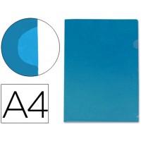 Carpeta beautone dossier uñero polipropileno din a4 azul -20 hojas