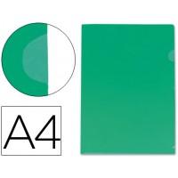 Carpeta beautone dossier uñero polipropileno din a4 verde -20 hojas