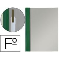Carpeta dossier fastener pvc esselte folio verde