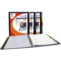 Carpeta 20 fundas extraibles In & Out tamaño folio personalizable