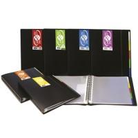 Carpeta 30 fundas extraibles XS In & Out A4 cubierta semi-rígida color negro