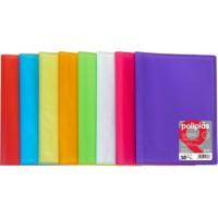 Carpetas de 20 fundas soldadas colores surtidos tamaño Folio