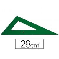 Cartabon faber 28 cm plastico verde
