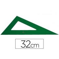 Cartabon faber 32 cm plastico verde