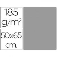 cartulina 50x65 cm 180g/m2 gris