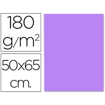 Cartulina 50x65 cm 180g/m2 violeta